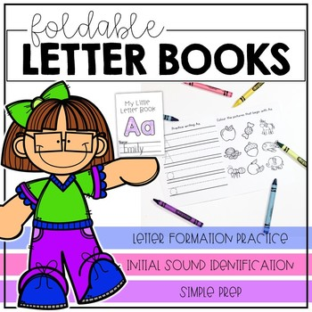 Foldable Little Letter Books