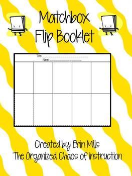 Foldable-Matchbook Flip Booklet