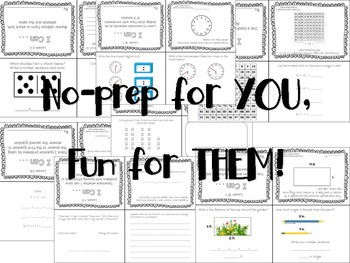 Foldable Math Exit Tickets for ALL Standards!