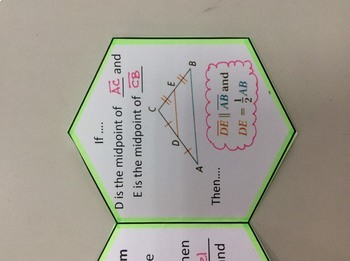 Foldable Midsegment of Triangles
