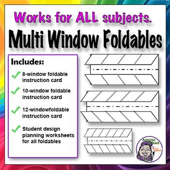 Foldable - Multi-Window Series - Graphic Organizers