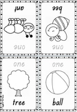 Foldable Number Booklets 1 to 10 in Queensland Beginners Font for Prep