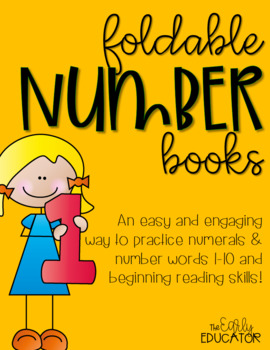 Foldable Number Books 1-10