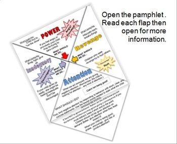 Discipline Not Punishment - Foldable Pamphlet