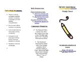 Foldable Parent Letter Template (editable)