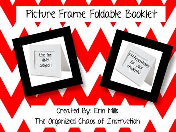 Foldable-Picture Frame Booklet