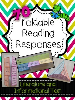 Foldable Reading Responses - Common Core Aligned