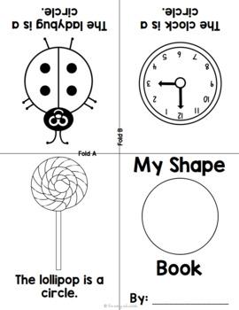 Foldable Shape Books