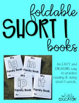 Foldable Short I Word Family Books