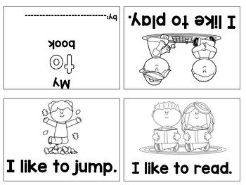 Foldable Sight Word Books--Dolch first 40