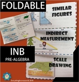 Similar Figures, Indirect Measurement and Scale Drawing Foldable