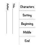 Foldable Story Map