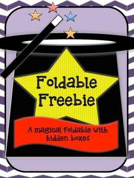 Foldable Template {Freebie}