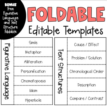 Foldable Template