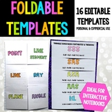 Foldable Templates
