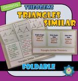 Foldable Triangle Similar Theorems