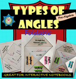 Foldable Types of Angles