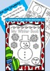 Winter Foldable Book - Trace and Color