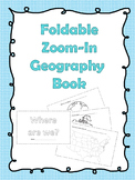 Foldable Zoom-In Geography Book