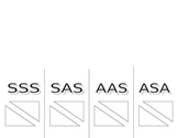 Foldable for SSS, SAS, AAS, and ASA