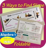 Three Ways to Find Slope Foldable