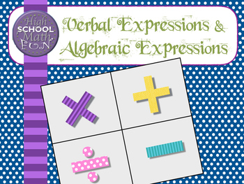Foldable verbal expressions