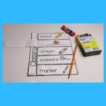 ESL Activities for School Vocabulary - Unit 2 Great For ESL Beginners