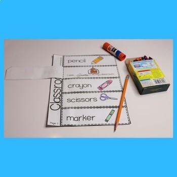 ESL Activities for School Vocabulary - Unit 2 Great For ESL Beginners
