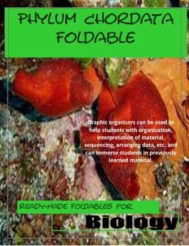 Introduction to Phylum Chordata Foldable