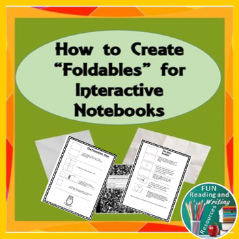 Foldables for Interactive Notebooks