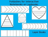 Foldables for Interactive Notebooks - Layer Books Template