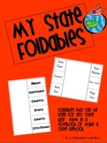 Foldables for State Research Projects and Lapbooks