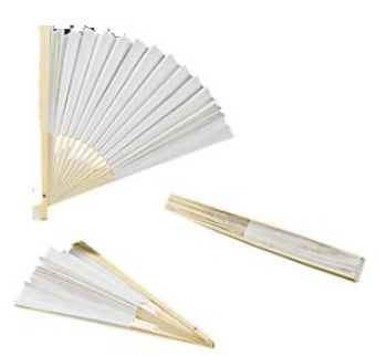 Folded DIY Craft Fans! International Studies: China