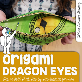 Folded Dragon Eyes that open