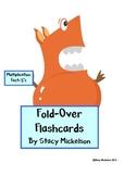 Folded Flashcards - Multiplication - 5's