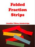 Folded Fraction Strips