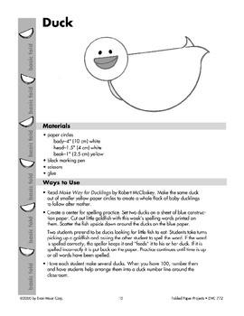 Folded Paper Duck