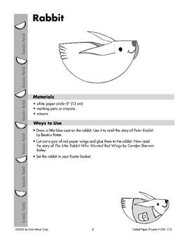 Folded Paper Rabbit