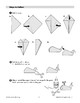 Folded Paper Whale with Spout