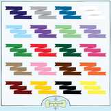 Clipart - Ribbon Banners
