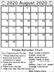 Folder Behavior Calendar