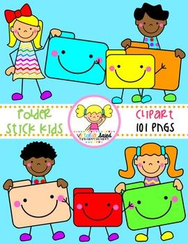 Folder Clipart {Kids Clipart}