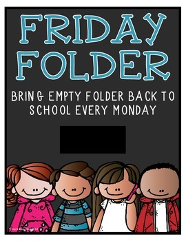Folder Cover - Friday Folder 2
