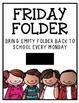 Folder Cover - Friday Folder 2