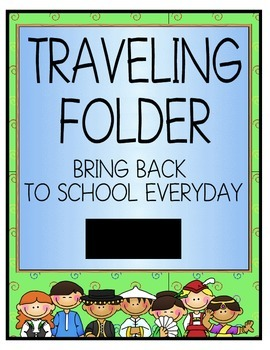 Folder Cover - Traveling Folder
