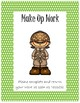Folder Cover for Absent Student~ Green Polka Dot Detective