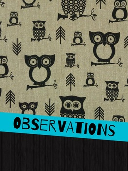 Folder Covers - OWLS
