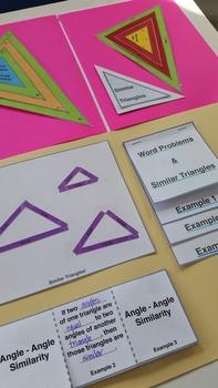 Folder Flips: Similar Triangles