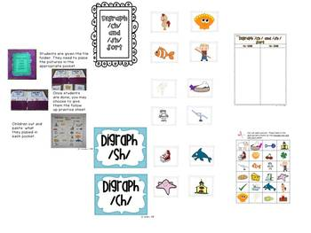 Folder Fun-Primary Literacy Sorting Unit
