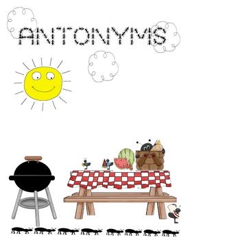 Folder Game: Antonyms